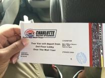 Speedway ticket